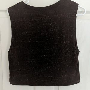 one clothing Tops - Egyptian Crop Top Tank, Size Medium